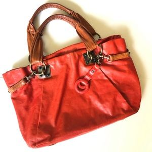 3.1 Phillip Lim Boho Slouchy Bag Red Tote